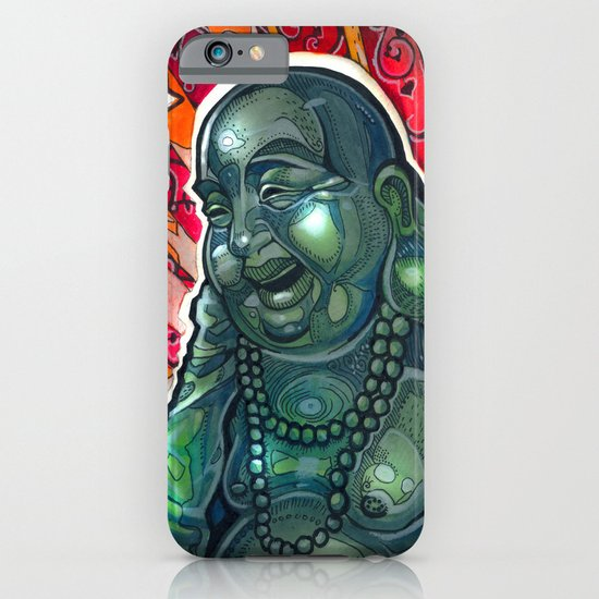 Glowing Buddha iPhone & iPod Case