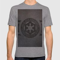 Empire Mens Fitted Tee Athletic Grey SMALL