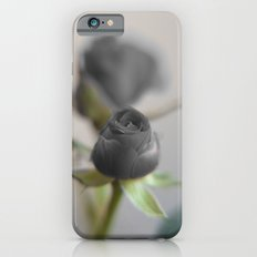 A Black Rose for your Sweetheart iPhone 6s Slim Case