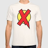 X-Statix Mens Fitted Tee Natural SMALL