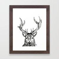 Ole Dear! Framed Art Print