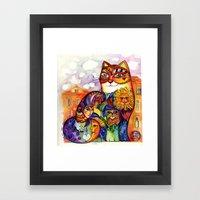 Venice Cat Framed Art Print