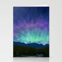 Arctic Aura - Painting Stationery Cards