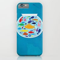 iPhone & iPod Case featuring Big fish, little bowl.  by Fried Bologna