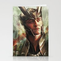The Prince of Asgard Stationery Cards