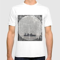 MOONRISE Mens Fitted Tee White SMALL