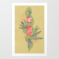 Swisssss Art Print