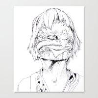 6 pieces_3 Canvas Print