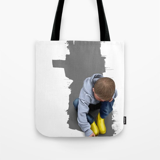 To Live with No Thought for the Future Tote Bag