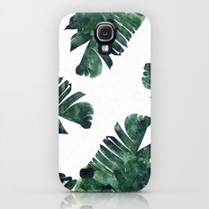 Banana Leaf Watercolor P… Galaxy S4 Slim Case