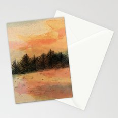 Horizonte distante Stationery Cards
