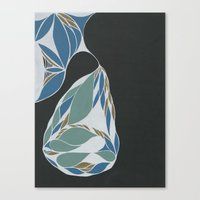 Apartment Pear #9 Canvas Print