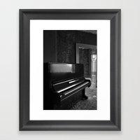 Grand Old Piano Framed Art Print