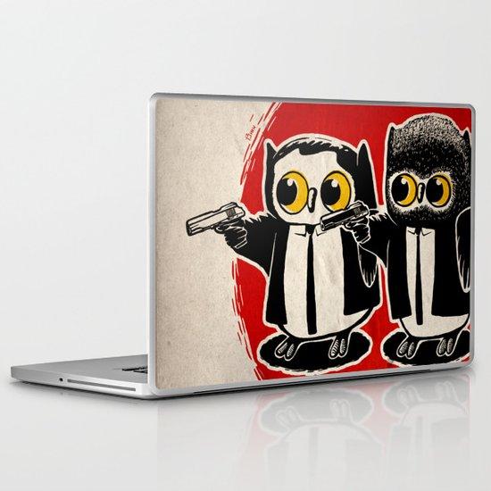 Owls Pulp Fiction Laptop & iPad Skin