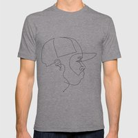 One Line For Dilla Mens Fitted Tee Athletic Grey SMALL