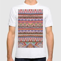TRIBAL NOMAD Mens Fitted Tee Ash Grey SMALL
