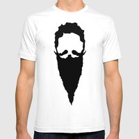 Homeless Wizard Mens Fitted Tee White SMALL