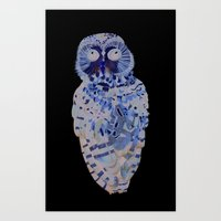 Northern Spotted Owl. Art Print