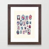 Hang ups Framed Art Print