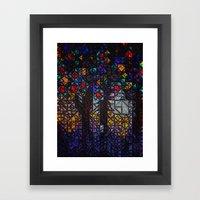 :: Stained :: Framed Art Print