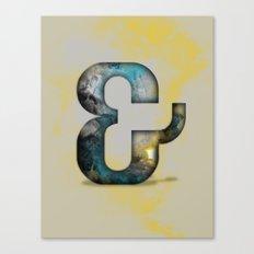 Ampersand Series - Silom Typeface Canvas Print