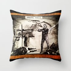 Whipping Corpses 1 Throw Pillow