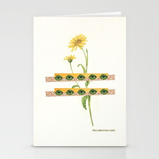 The Flower Stationery Card
