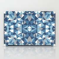 Abstract Collide Blues iPad Case