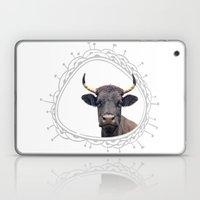 Yellow Horns Laptop & iPad Skin