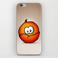 ORANGE | NARANJA iPhone & iPod Skin