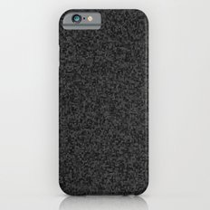 grayscale treemap mosaic - dark iPhone 6s Slim Case
