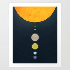 Our Planets Art Print
