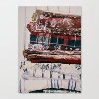 Linens Canvas Print