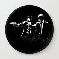 Divine Monkey Interventi… Wall Clock