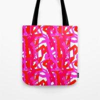 Urban Pink Tote Bag