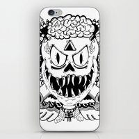 Need More Brains! iPhone & iPod Skin