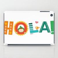 Hola iPad Case