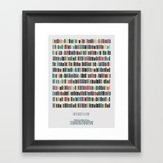 I N T E R S T E L L A R Framed Art Print