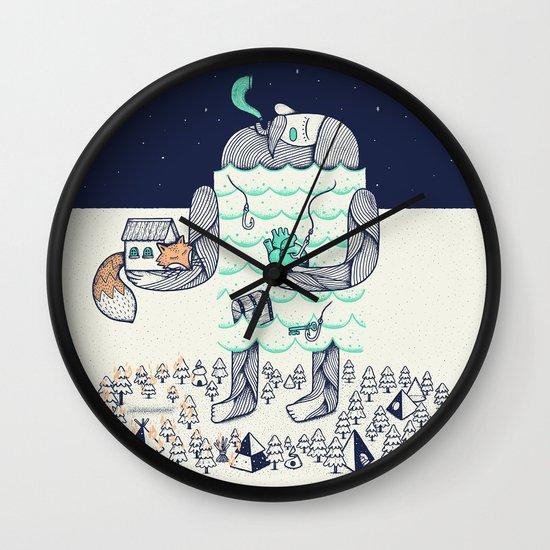 Arrivals Wall Clock