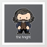The Knight Art Print