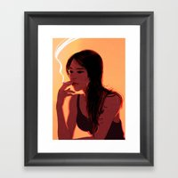 Thoughts Of... Framed Art Print