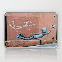 The Floating Man Laptop & iPad Skin