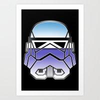 Trooper in disguise Art Print