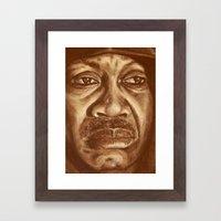 Joe Framed Art Print