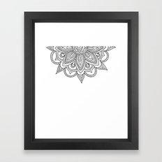 Mr. Mandala Framed Art Print