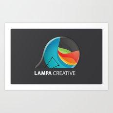Lampa Creative Logo Art Print