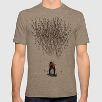 Stop Wasting Arrows And … Mens Fitted Tee Tri-Coffee SMALL
