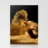 Animal Sandwave Stationery Cards