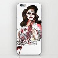 Bloody Lana  iPhone & iPod Skin