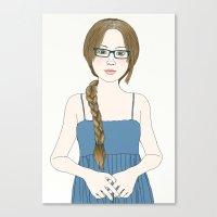 Eye Glassses Canvas Print